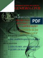 Trabao Encargado Metodo Castigliano Metodo Trabajo Virtual