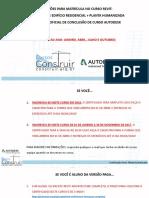 Certificação Revit Planta Humanizada - Cursos Construir