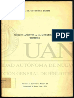 DERISI O. - Nuevos aportes a la metafísica tomista - ARTÍCULO.pdf