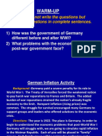 german inflation simulation