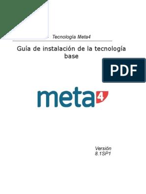 Guia Instalacion M4   Servidor web   Aplicación web