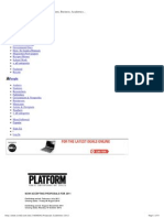 Platform Art Proposals Guidelines 2011