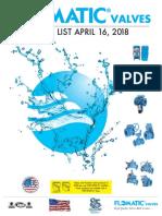 2018 Flo Matic Pricelist