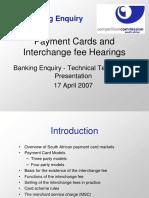 Card Interchange Fees