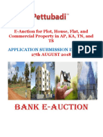 E-Auction for Plot, House, Flat, and Commercial Property in AP, KA, TN, and TS