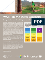 WASH in the 2030 Agenda