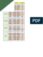 g12 Schedule