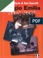 Mihail Marin Yuri Garrett - Reggio Emilia 2007-08 Quality Chess 2009 - Editable