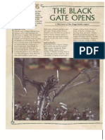 Battle Report - The Black Gate Opens