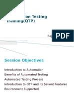 Automation Testing QTP