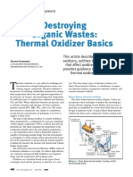 Thermal Oxidizer Basics