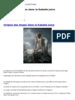 FreeMann Origine des Anges dans la Kaballe Juive.doc