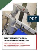 Electromagnetic Tool Changer for ABB IRB1200 by Chandrashekhar Chudmunge