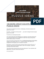 100 MORE GREAT ESCAPE ROOM PUZZLE IDEAS.docx