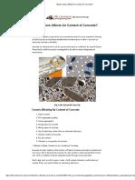 What Factors Affects Air Content of Concrete