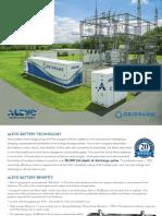 Alevo Energy Brochure