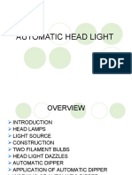 Automatic Headlight PPT
