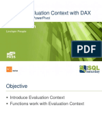 Get Into Evaluation Context with DAX