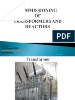 Commissioning of Transformers and Reactors -arun.pptx
