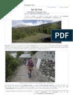Sat Tal Trek, Uttarakhand Bloggers Bus _ Rangan Datta