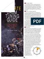 Drums the Ultimate Drum Tuning Guide - By Steven Volpp