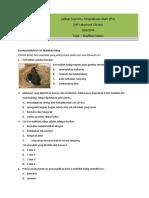 Bahan Latihan-Ulangan Klasifikasi