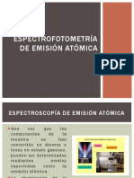 Espectrofotometria de Emision Atomica