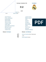 Servette Genève - Real Madrid 0_2 (Champions League 1955_1956, 1. Round)