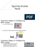 01 - Configuring Access Point