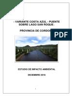 Variante Costa Azul Estudio Impacto Ambiental