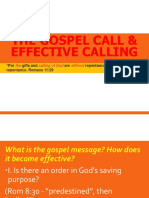 The Gospel Calling and Effective Calling
