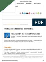 Instalacion Electrica Doméstica - BricoBlog