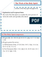 Chapter 30 Work of the Holy Spirit