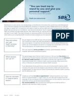 SBK Healthcare in Germany en Druck