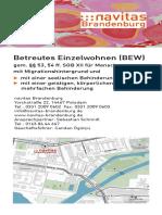 Flyer Navitas Brandenburg