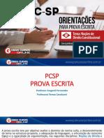 Redação PCSP