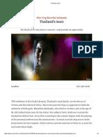 Thailand's Tears