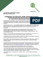 """EcoQuest Ltd SCHWERPUNKT AUF DEUTSCHE """"GRÜNE"""" INVESTOREN MIT DER IN AUSTRALIEN ENTWICKELTEN TECHNOLOGIE"""