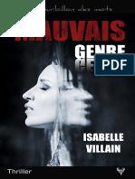 EXTRAIT du roman « Mauvais genre » d'Isabelle Villain