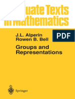 Groups and Representations