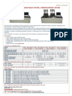 Indentation Resistance Tester