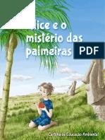 Agroflorestar - Cartilha - Alice e o Mistério Das Palmeiras