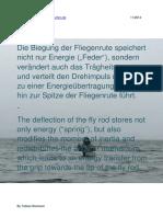 Die Biegung und die Umverteilung von Energie - The deflection and the redistribution of energy