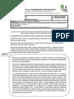 Ficha 4°  Historia-pacto tripartito.