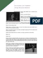 Sobre El Actor y El Modelo (Godard y Bresson)