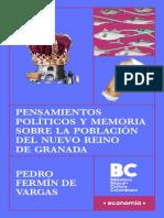 Pensamientos políticos y memorias sobre la población del Nuevo Reino de Granada.pdf