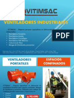 VITIMSAC - CATALOGO.. Ventiladores Para Espacios Confinados