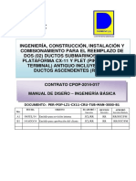 Manual de Diseño - Ingenieria Basica