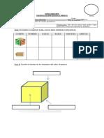 Matemática 6 básico prismas y cubo