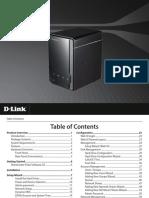 DNS 320 a1 Manual v200 en Ww